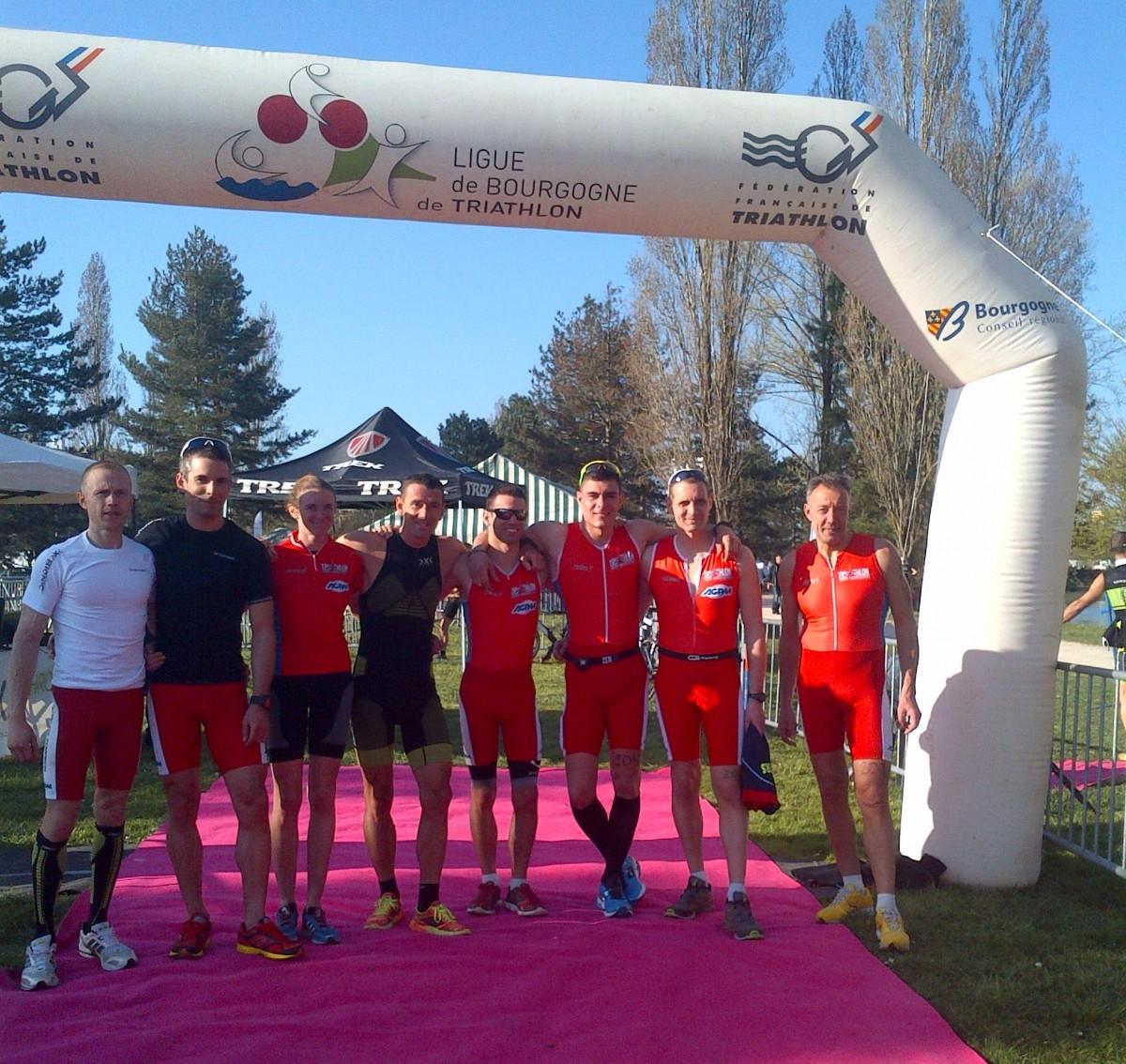 Championnat de France de duathlon de la FCD du 16 mars 2014.