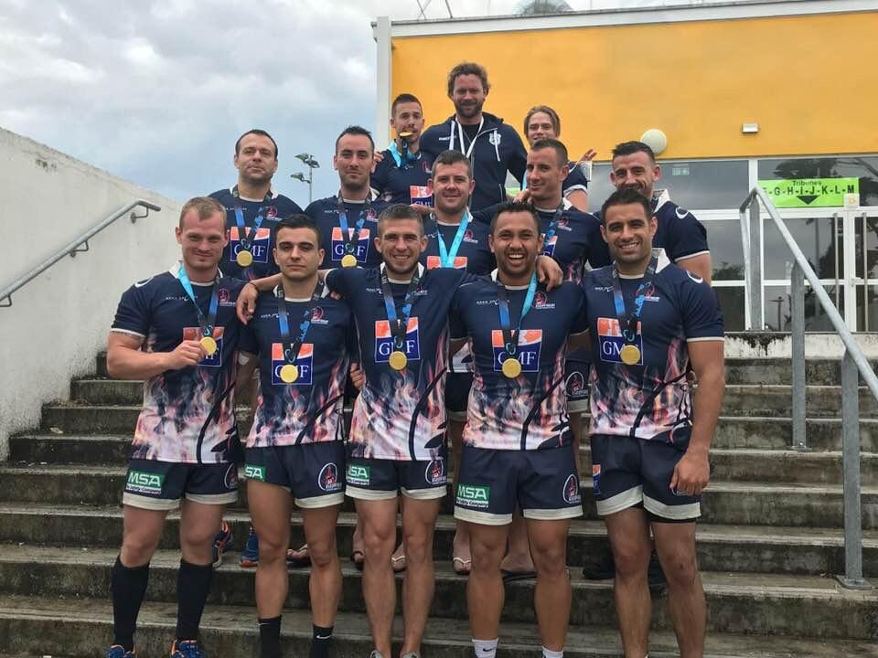 Le Rugby à 7, championne du monde inter-entreprises